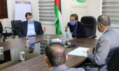 Prince Mired meets representatives of the Special Education Centers