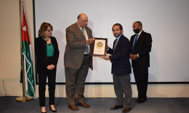 Prince Mired Ben Raad honors the efforts of the Civil Service Bureau to support persons with disabilities